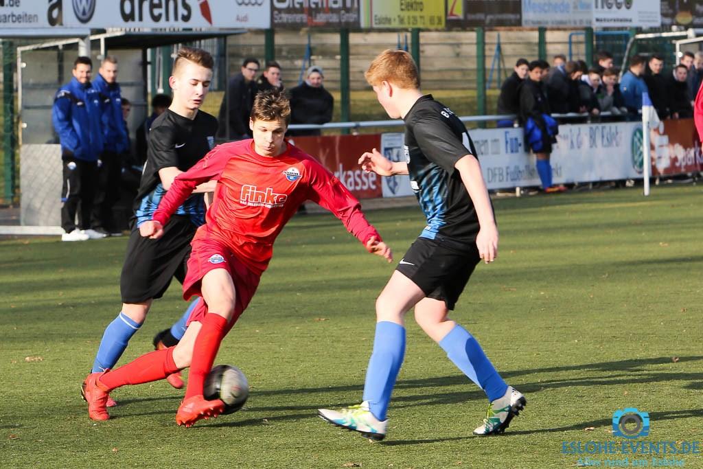 B-Jugend BC Eslohe - SC Paderborn 0:6