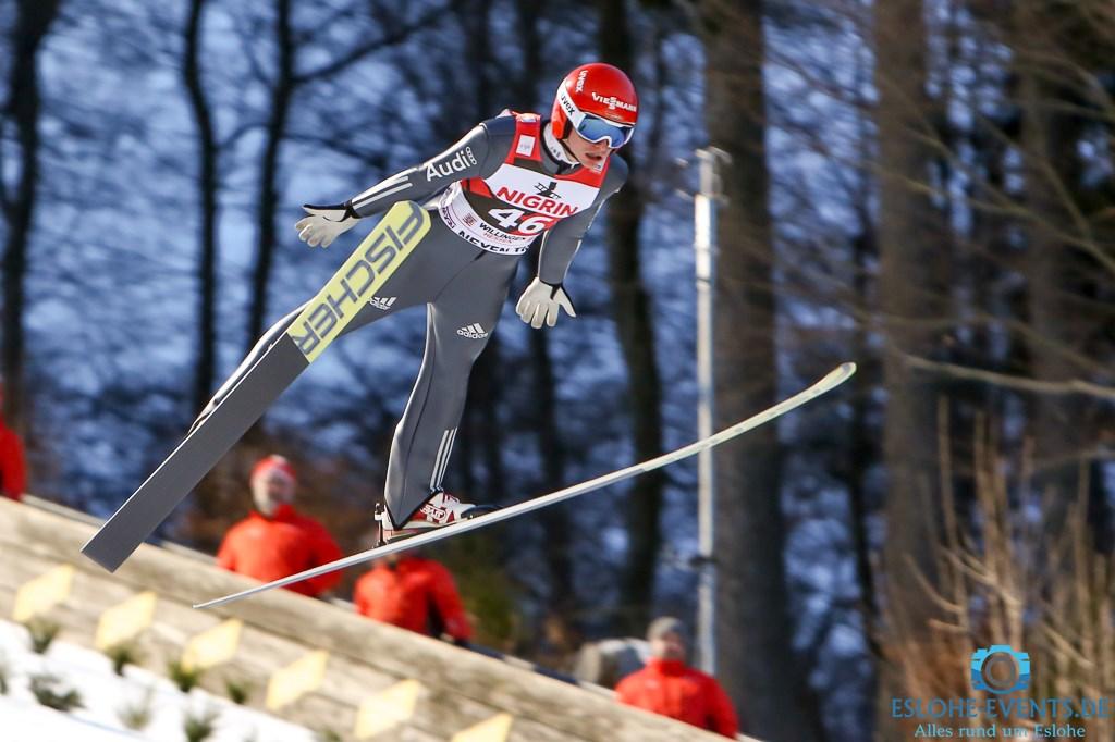 Wellinger gewann die Qualifikation in Willingen- Stephan Leyheauchbeim Teamspringen dabei