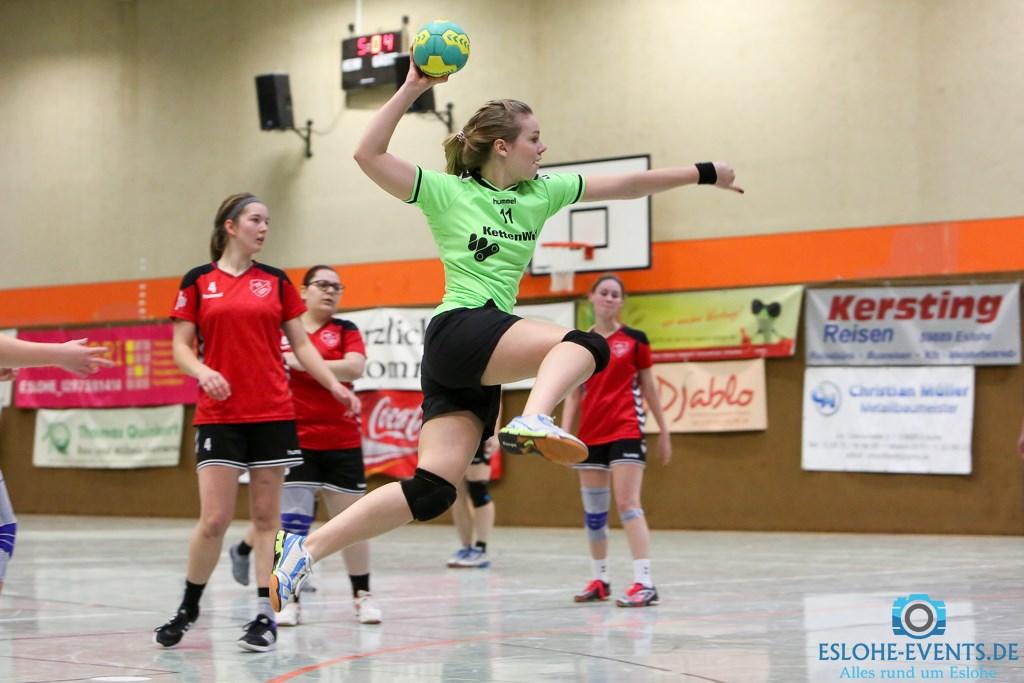Handball Damen BC Eslohe - TV Lössel 58:8