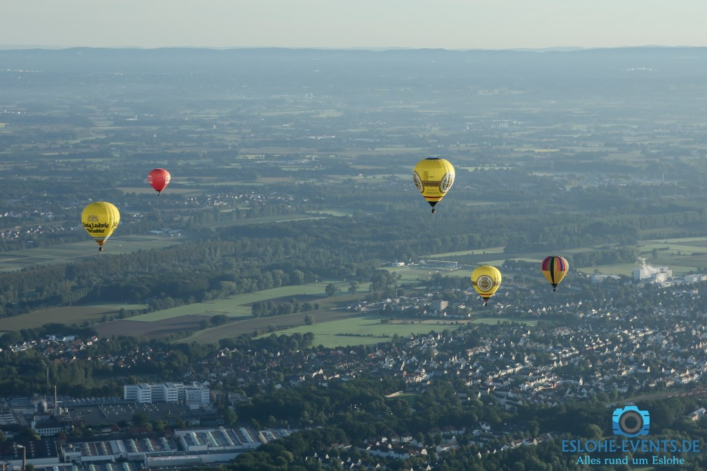 Warsteiner Internationale Montgolfiade 10.09.2015
