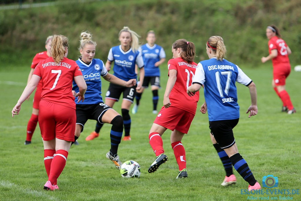 Vorbereitungsspiel Damen DSC Arminia Bielefeld - Sportfreunde Siegen 9:3