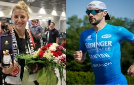 Carolin Schäfer und Patrick Lange beim Willinger Kultweltcup