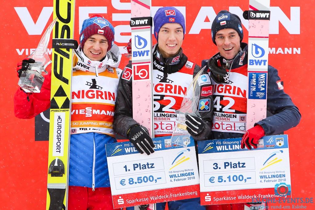 FIS Skisprung Weltcup 04.02.2018