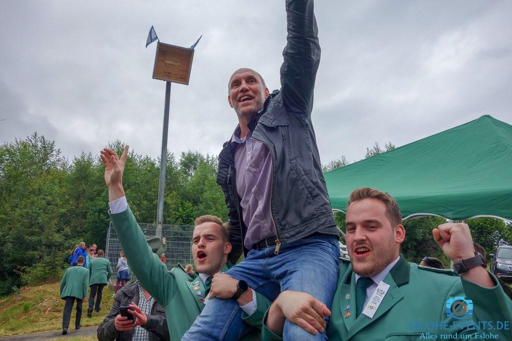 Thomas und Olaf Ludemann regieren die Esloher Schützen