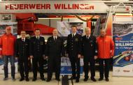"""Am 17. Februar 2019 an der Willinger Mühlenkopfschanze """"Feuerwehr-Sonntag"""" Dauerbrenner beim FIS Skisprung Weltcup"""