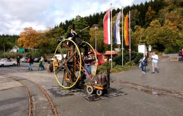 Dampftage im Dampf Land Leute Museum Eslohe mit Steampunk Festival 29. Sept. 2019