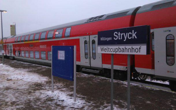 FIS Skisprung Weltcup in Willingen vom 7.-9. Februar 2020 mobilisiert die Massen Mit der Bahn bequem zum größten Sportevent der Region – reichlich Parkplätze vorhanden