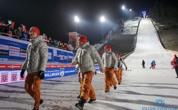 Auch am Sonntag neue Startzeit beim FIS Skisprung Weltcup! Erster Wertungsdurchgang beginnt schon um 10.15 Uhr!